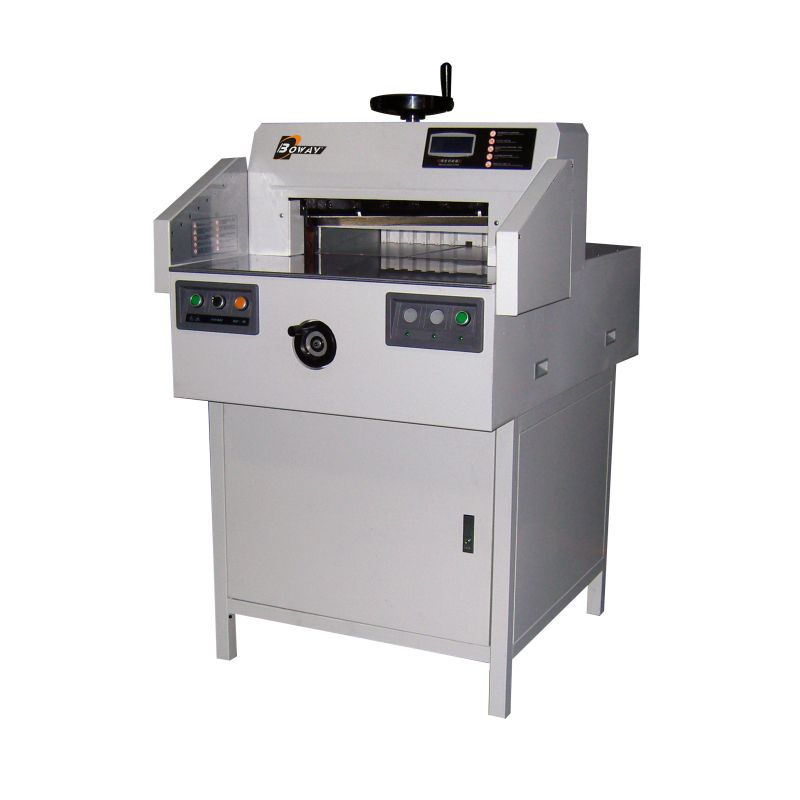 electric paper cutter Mbm triumph 4315 16-7/8 inch semi-automatic electric paper cutter with digital display [4315] the mbm triumph 4315 electric paper cutter has features for.