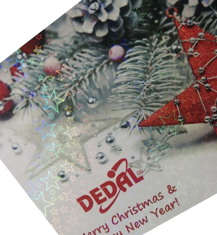 Dedal Company Ltd Hologram Glossy Roll Laminating Film
